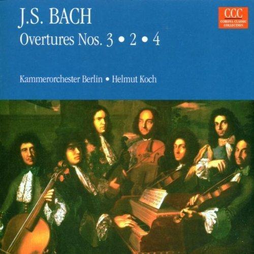 Bild 1: Bach, Ouvertüren Nr. 3, 2, 4, BWV 1068, 1067, 1069 (Edel, 1974) Kammerorch. Berlin/Koch