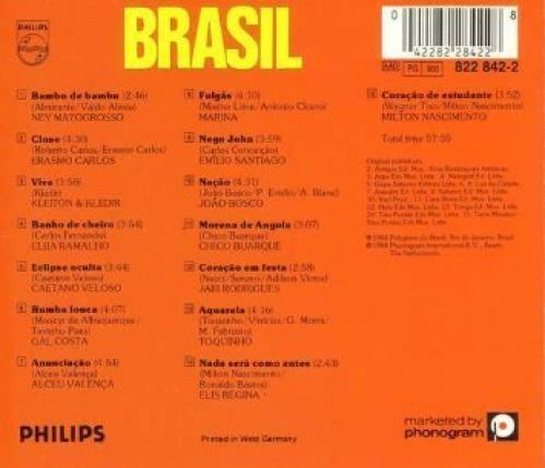 Bild 1: Brasil (1984, Philips), Ney Matogrosso, Erasmo Carlos, Kleiton & Kledir, Elba Ramalho..