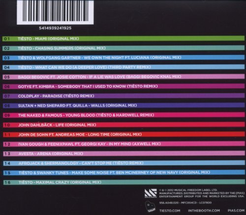 Bild 2: DJ Tiësto, Club life 2-Miami (2012)