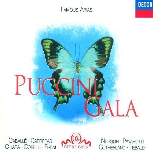 Bild 1: Puccini, Gala-Famous arias (Decca, 1962-88) Caballé, Carreras, Chiara, Corelli, Freni, Tebaldi..