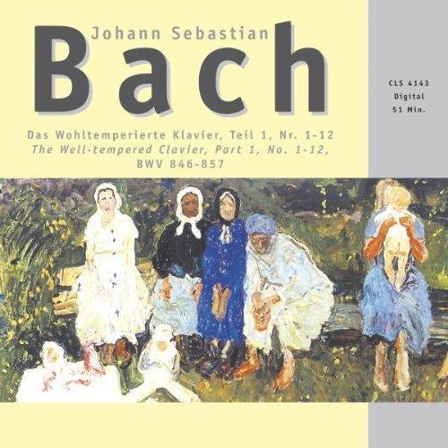 Bild 1: Bach, Das wohltemperierte Klavier-Teil 1, No. 1-12,  BWV 846-857 (Zyx) Christiane Jaccottet