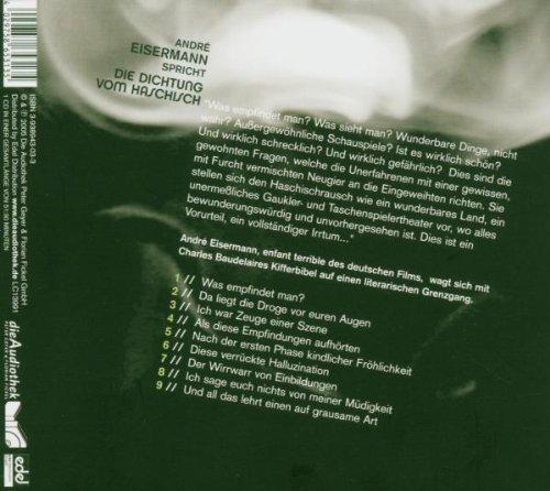 Bild 2: Charles Baudelaire, Die Dichtung vom Haschisch (2005, Sprecher: André Eisermann)