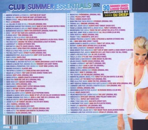 Bild 2: DJ Deep, Club summer essentials 2012 (mix)