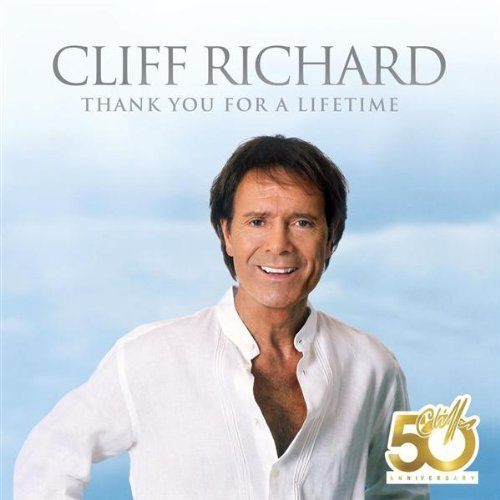 Bild 1: Cliff Richard, Thank you for a lifetime (2008; 2 tracks, cardsleeve)