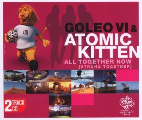 Bild 1: Goleo VI, All together now.. (2006; 2 versions, & Atomic Kitten)