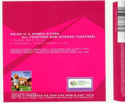 Bild 2: Goleo VI, All together now.. (2006; 2 versions, & Atomic Kitten)