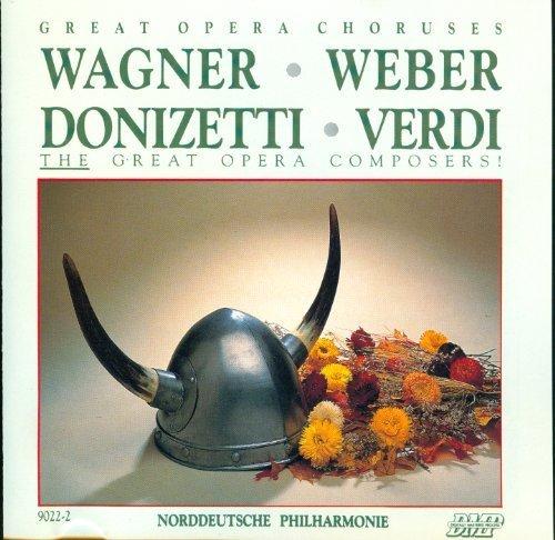 Image 1: Great Opera Choruses (Compose, 1988), Wagner, Weber, Donizetti, Verdi Norddeutsche Philharmonie/Richter