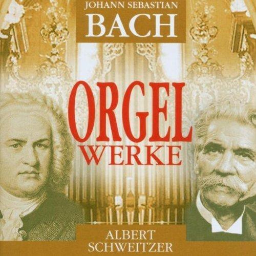Bild 1: Bach, Orgelwerke (Documents, 1935-37) Albert Schweitzer