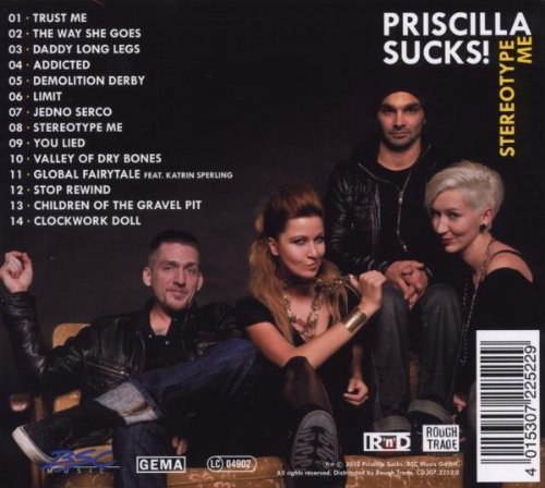 Bild 2: Priscilla Sucks!, Stereotype me (2012)