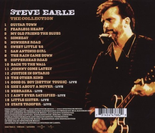 Bild 2: Steve Earle, Collection (2002)