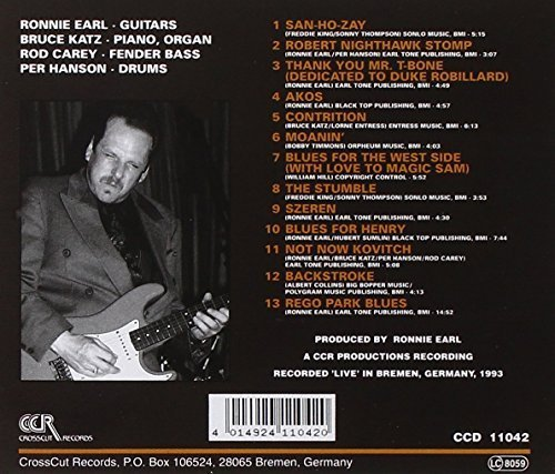 Bild 2: Ronnie Earl, Blues and forgiveness-Live in Europe (1993, & The Broadcasters)