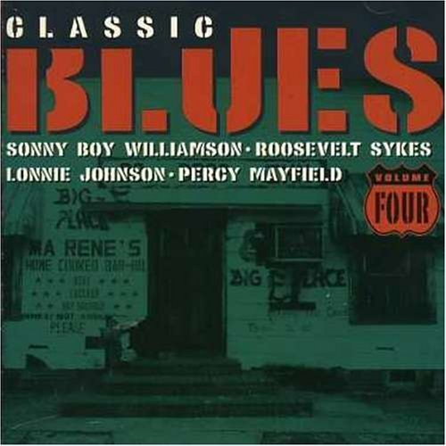 Bild 1: Classic Blues 4 (2000), Big Bill Broonzy, Arthur Big Boy Crudup, Jazz Gillum, Sonny Terry, Percy Mayfield..