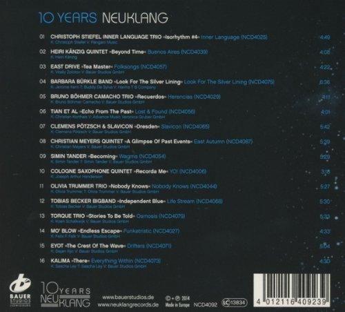Bild 2: 10 Jahre Neuklang (2014), Christoph Stiefel Inner Language Trio, Heiri Känzig Quintet, East Drive, Barbara Bürkle Band..