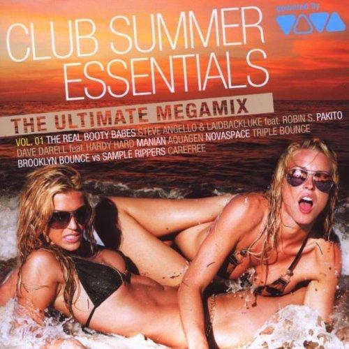 Bild 1: Club Summer Essentials 1 (2009, VIVA), Real Booty Babes, Steve Agnello & Laidbackluke feat. Robin S., Aquagen, Novaspace, Brooklyn Bounce..