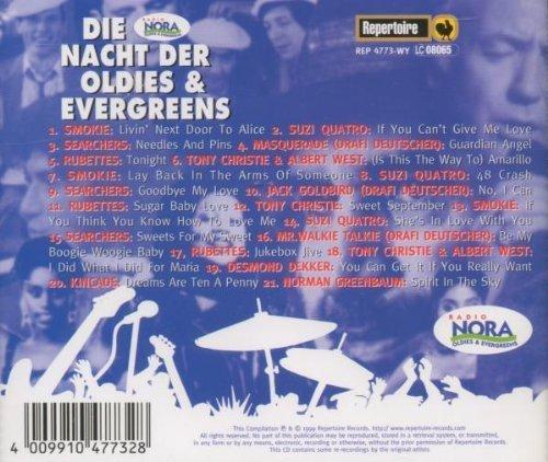 Bild 2: Radio Nora: Die Nacht der Oldies & Evergreens '99, Smokie, Suzi Quatro, Searchers, Masquerade, Smokie.. (Repertoire)