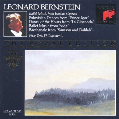 Bild 1: Leonard Bernstein, Ballet music from famous operas (1967-76, Sony, & New York Philharmonic)