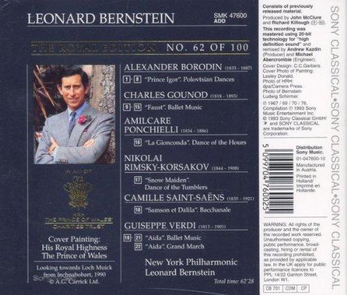 Bild 2: Leonard Bernstein, Ballet music from famous operas (1967-76, Sony, & New York Philharmonic)