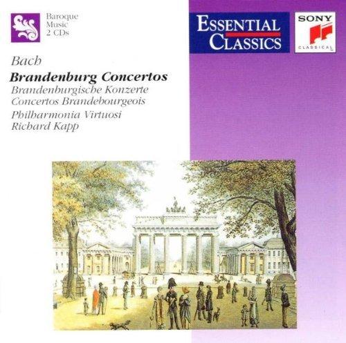 Bild 1: Bach, Brandenburg concertos (Sony, 1984) Philharmonia Virtuosi/Kapp