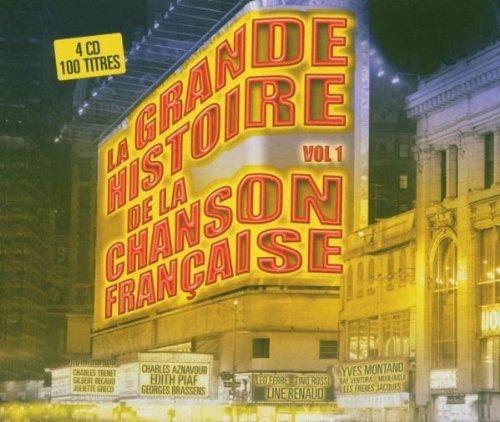 Bild 1: La grande Histoire de la Chanson Française (2004), Charles Aznavour, Edith Piaf, Georges Brassens, Charles Trenet..