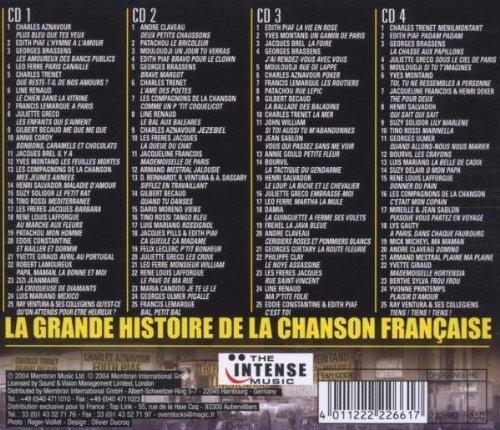 Bild 2: La grande Histoire de la Chanson Française (2004), Charles Aznavour, Edith Piaf, Georges Brassens, Charles Trenet..