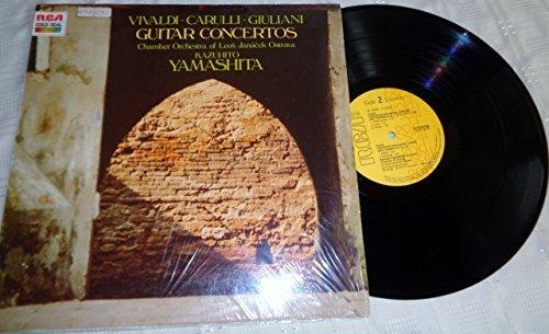Bild 1: Kazuhito Yamashita, Guitar concertos (Vivaldi, Carulli, Giuliani)
