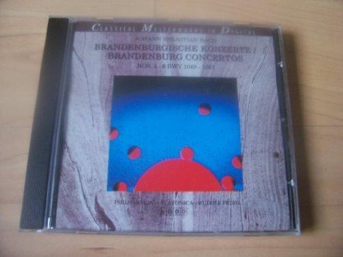 Bild 1: Bach, Brandenburgische Konzerte Nr. 4-6 (AmCo) Mitglieder der Philharmonia Slovanica/Brazda
