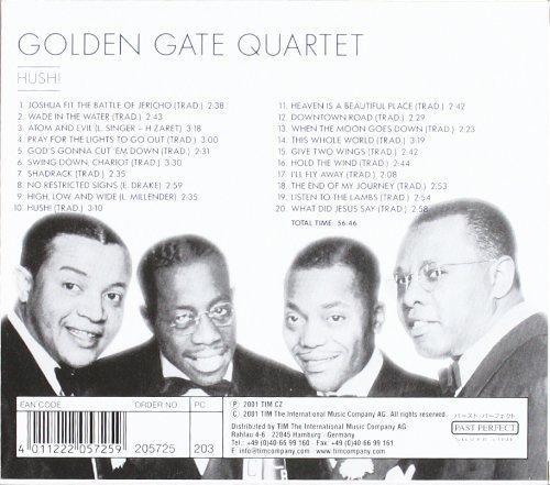 Bild 2: Golden Gate Quartet, Hush! (past perfect silver line)