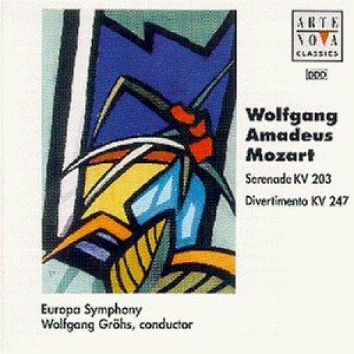 Bild 1: Mozart, Serenade Nr. 04, KV 203/Divertimento No. 10, KV 247 (Arte Nova, 1996) Europa Symphony/Gröhs, Ovidiu Rusu, Voichita Popa