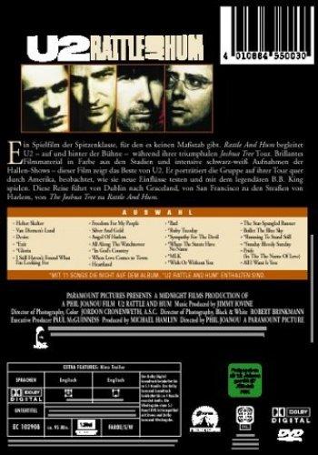 Bild 1: U2, Rattle and hum (1988)