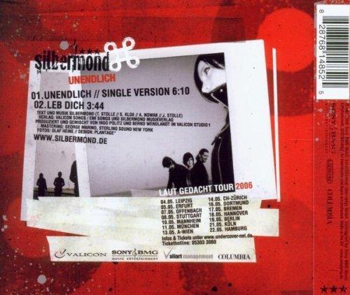 Bild 2: Silbermond, Unendlich (2006; 2 tracks)