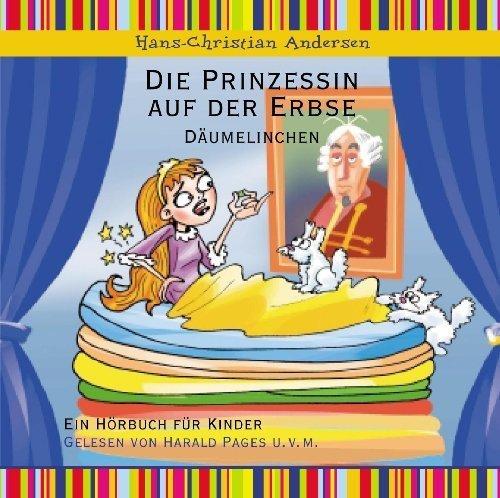 Bild 1: Hans Christian Andersen, Die Prinzessin auf der Erbse/Däumelinchen (Leser: Harald Pages)