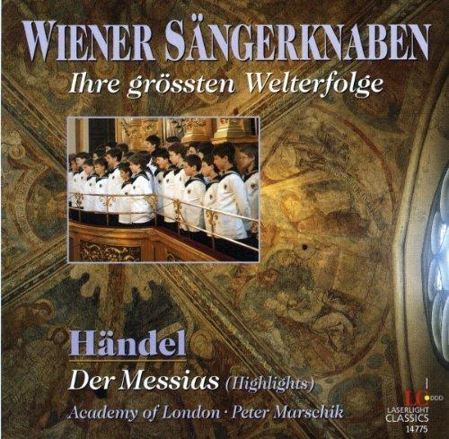 Bild 1: Wiener Sängerknaben, Ihre grössten Welterfolge: Händel: Der Messias-Highlights (& Academy of London/Marschik)