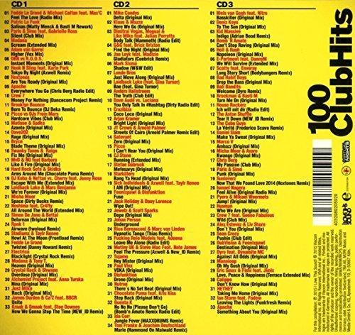 Bild 2: 100 ClubHits 1 (mixed, 2015), Fedde Le Grand, Patric La Funk, Modana, Adam van Garrel, Apache, Crew 7..