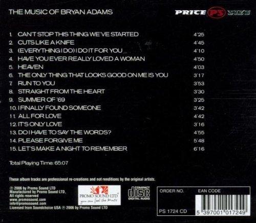 Bild 2: Bryan Adams, Music of (performed by Vangarde Inside, 2006)