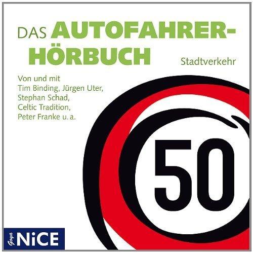 Bild 1: Autofahrerhörbuch, Stadtverkehr (Sprecher: Christian Brückner, Stephan Schad, Peter Franke, Bernd Stephan)