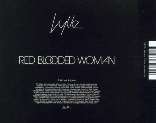 Bild 3: Kylie Minogue, Red blooded woman (2004; 2 tracks)