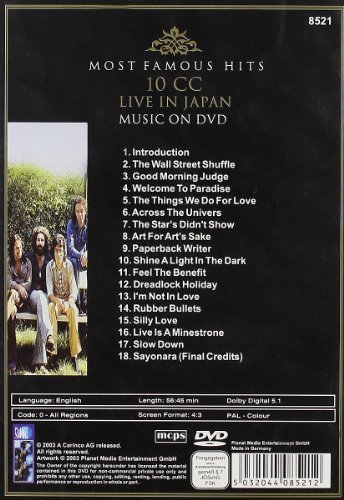 Bild 2: 10CC, Most famous hits-Live in Japan
