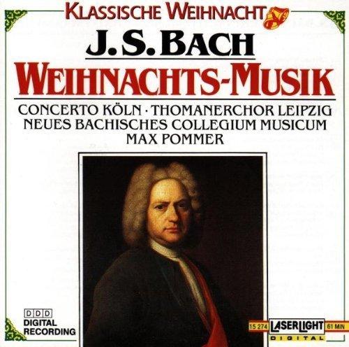 Bild 1: Bach, Christmas music (Laserlight, 1990) Ludwig Güttler, Thomanerchor Leipzig, New Bach Collegium Musicum/Pommer