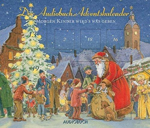 Bild 1: Audiobuch-Adventskalender, 24 Lieder, Gedichte und Märchen zum Advent: Andreas Fröhlich, Anna Thalbach, Tölzer Knabenchor..