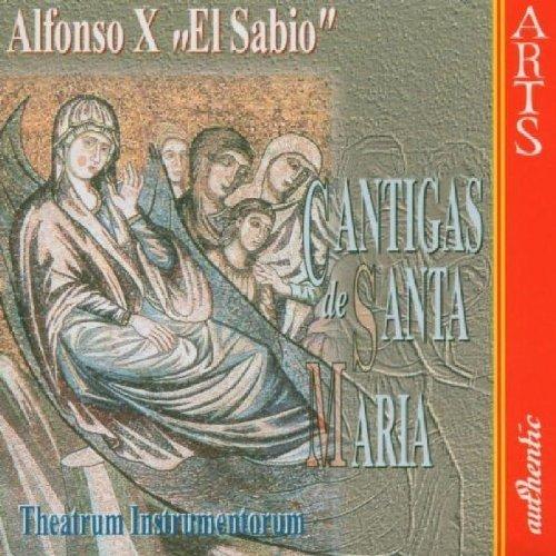 Bild 1: Alfonso X 'El Sabio', Cantigas de Santa Maria.. (Arts, 1998) Theatrum Instrumentorum/Karlic
