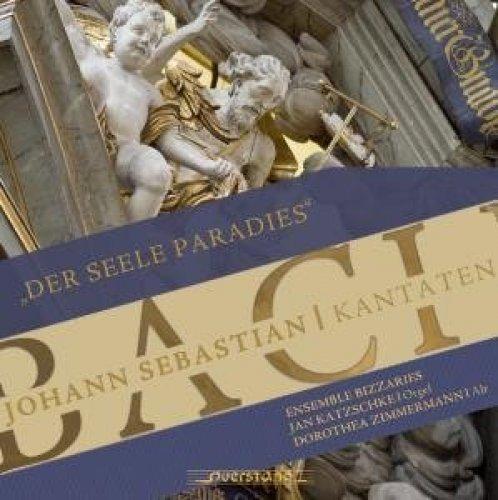 Bild 1: Bach, Der Seele Paradies-Kantaten, BWV 35, 169 (VKJK, 2007) Dorothea Zimmermann, Jan Katzschke, Ensemble bizzaries