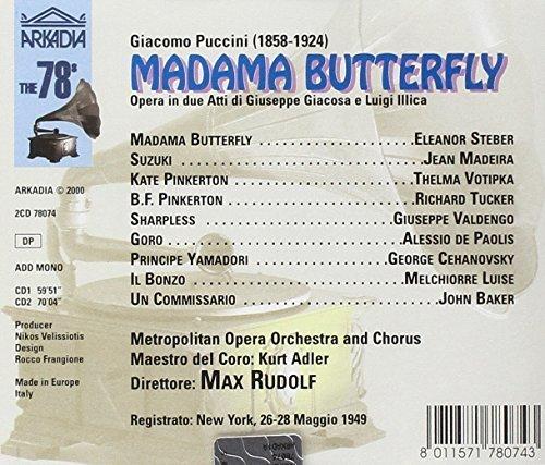 Bild 2: Puccini, Madama Butterfly (Arkadia, 1949) Metropolitan Opera Orch./Rudolf, Eleanor Steber, Jean Madeira..