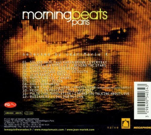 Bild 2: Jean-Marie K, Morning beats Paris-Selected by (2001)