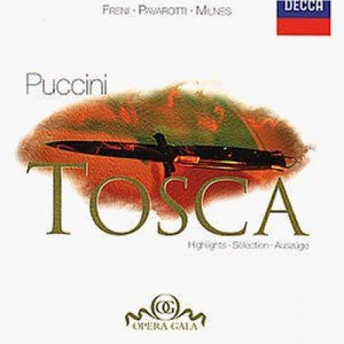 Bild 1: Puccini, Tosca-Highlights (Decca, 1979) National PO/Rescigno, Mirella Freni, Luciano Pavarotti..
