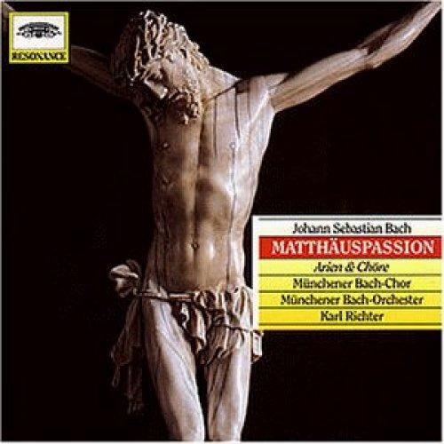Bild 1: Bach, Matthäus-Passion, BWV244-Arien und Chöre (Resonance, 1959) Münchener Bach-Chor & Orch./Richter, Irmgard Seefried, Hertha Töpper..