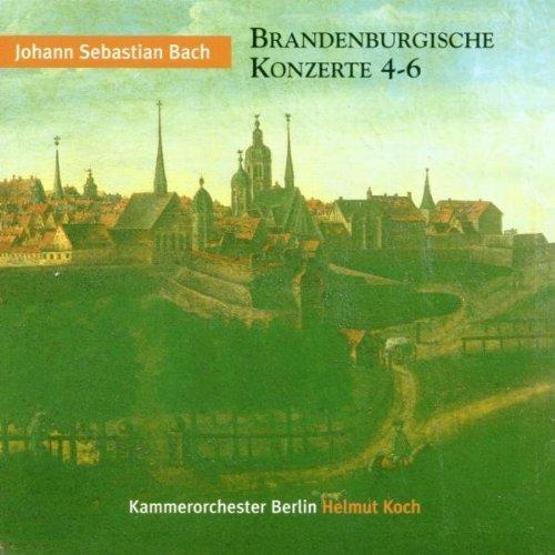 Bild 1: Bach, Brandenburgische Konzerte Nr. 4-6 (Berlin Classics/ETERNA, 1972) Kammerorch. Berlin/Koch
