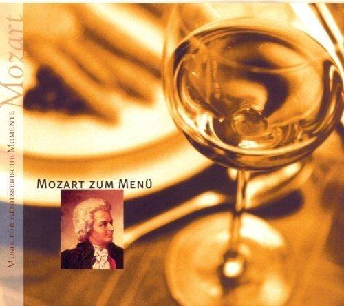 Bild 1: Mozart, Mozart zum Menü (compilation, 1999, Sony) Cleveland Orch./Lane, Szell, Annerose Schmidt, Dresdner Philharmonie/Masur..