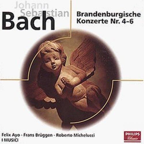 Bild 1: Bach, Brandenburgische Konzerte Nr. 4-6/Konzert für Violine und Oboe, BWV 1060 (Philips, 1965/61) I Musici, Felix Ayo, Frans Brüggen, Roberto Michellucci..