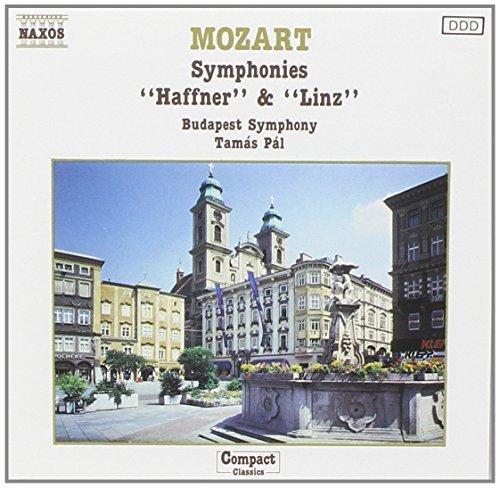Bild 1: Mozart, Symphonies Nos. 35 & 36, KV 385 'Haffner', KV 425 'Linz' (Naxos, 1987) Budapest SO/Pál