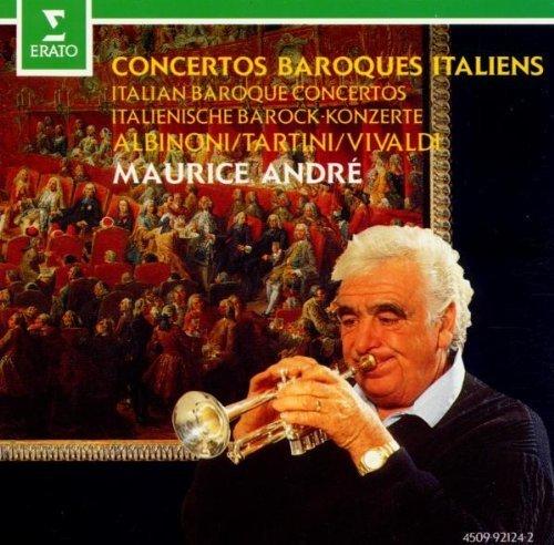 Фото 1: Maurice André, Concertos baroques italiens (1965-78, Erato)